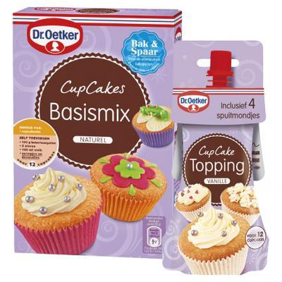 Dr oetker cupcake mix en decoratie aanbieding week 42 for Decoratie cupcakes