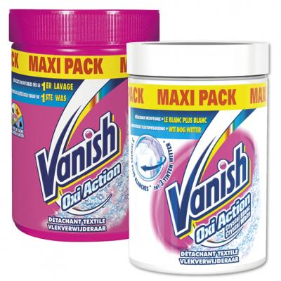 Vanish Oxi Action multi of Crystal White
