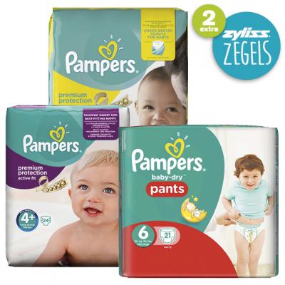 Pampers New baby, Active fit of Baby-dry pants