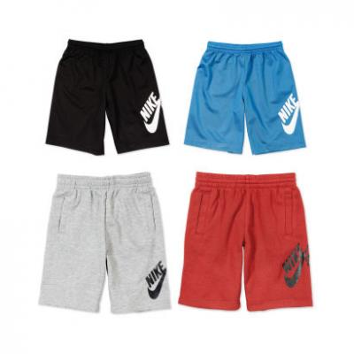 Nike kids sweat shorts