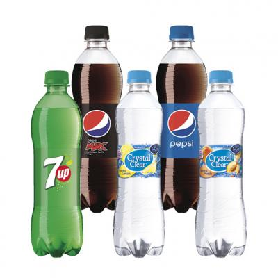 7UP, Crystal Clear of Pepsi