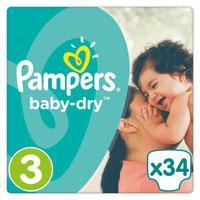 Pampers premium protection of baby-dry