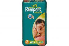Pampers Baby dry, New baby of Active fit