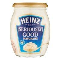 Heinz seriously good mayonaise of tomato ketchup