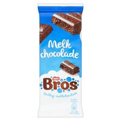 Nestle crunch, rolo of bros chocoladetablet