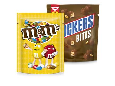 Mars, Snickers of Twix Bites, M&M's of Maltesers zak