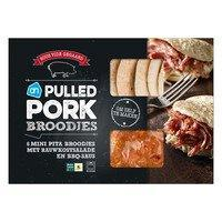 Tulip pulled turkey 500 gram of pulled pork barbecue 550 gram