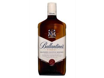 Bacardi carta blanca of ballantine finest scotch whisky