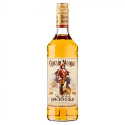 Captain morgan spiced gold, white rum of wyborowa wodka