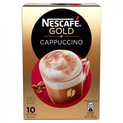 Nescafe instantkoffie of hot chocolate mix