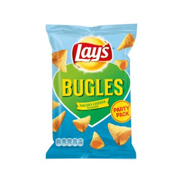 Doritos of Lay's wokkels, Hamka's of Bugles