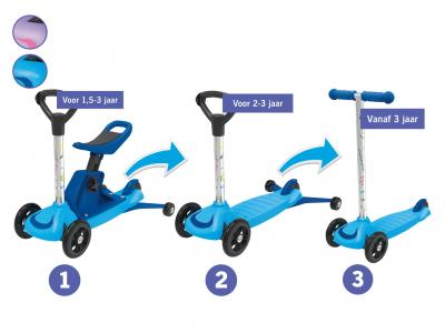 3-in-1 tri-scooter