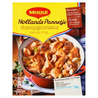 Maggi dagschotel, ovenschotel of Hollands pannetje