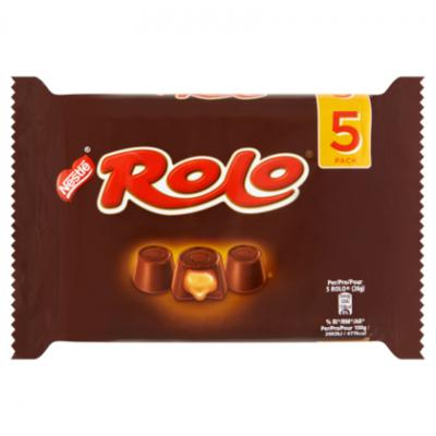 Kitkat, smarties, bros of rolo