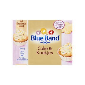 Blue Band hazelnootpasta of cupcakemix of pretspread