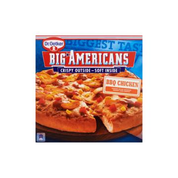 Dr. Oetker Big Americans of pizzaburger