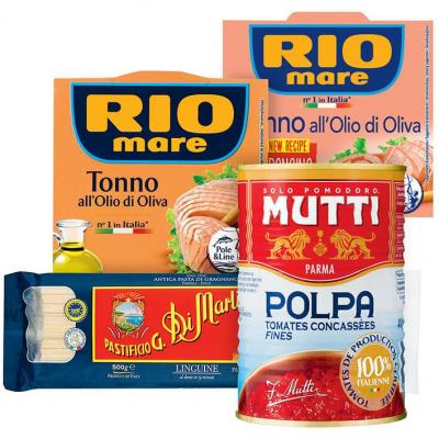 Alle Rio Mare, Mutti en Pastificio*
