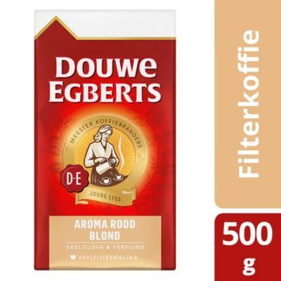 Douwe Egberts aroma rood koffie of pads of decafe