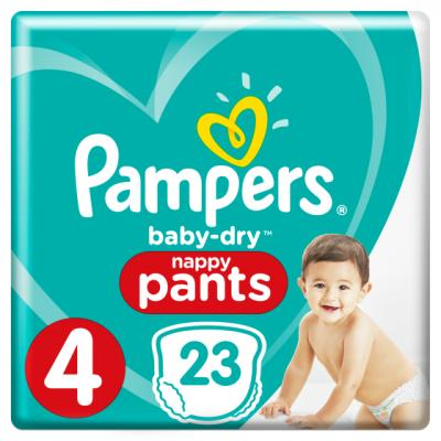 Pampers premium protection of baby dry pants