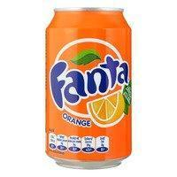 Coca-Cola of Fanta blik
