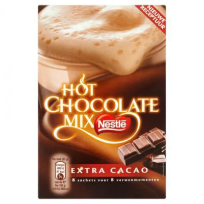 Nescafé hot chocolate of oploskoffie