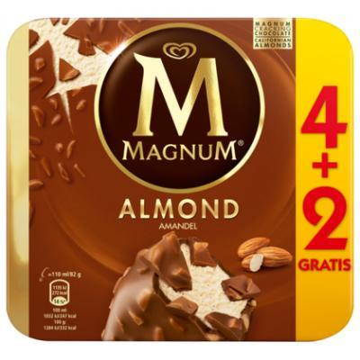 Ola magnum white, almond, classic of pint