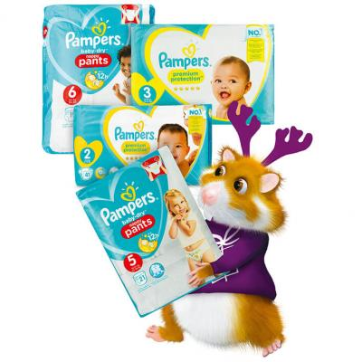 Pampers Premium protection maat 1 t/m 3 en pants