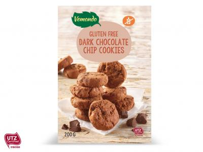 Glutenvrije double chocolate chip cookies