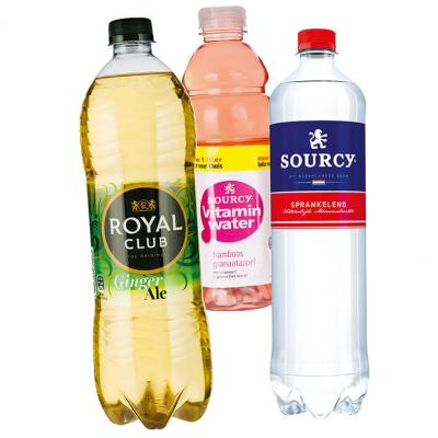 Alle Royal Club, Sourcy en Vitaminwater