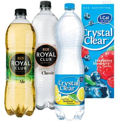 Crystal Clear of RoyalClub 1-1.5 liter
