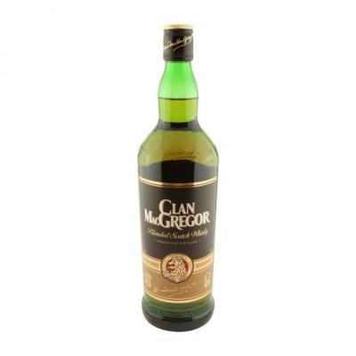 Clan macgregor scotch blend whisky