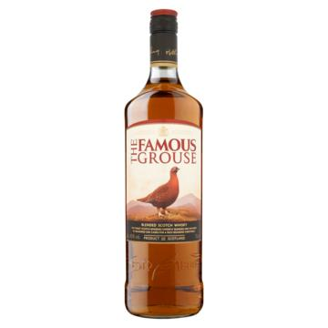 Famous grouse finest, smokey black of bourbon