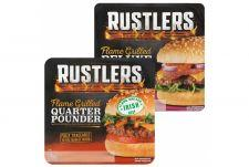 Rustlers Quarter Pounder of Deluxe burger