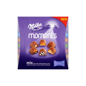 Milka chocoladetabletten of moments