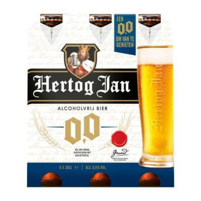 Hertog Jan of Bud pils 30 cl