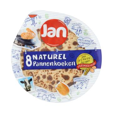 Jan pannenkoeken naturel of bosbes pancakes