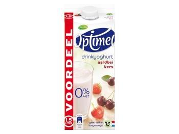 Optimel drink of yoghurt