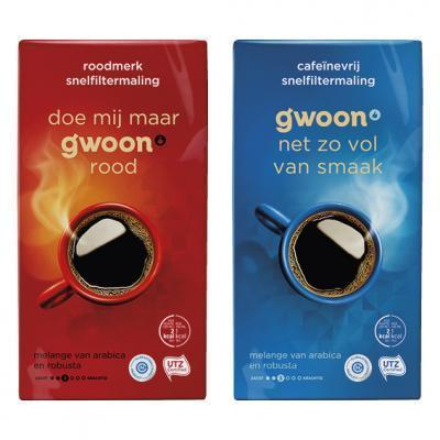 g'woon filterkoffie