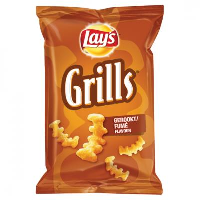 Lay's Flat, Strong, Hamka's of Grills