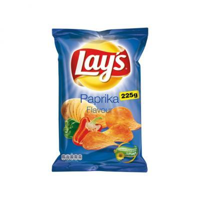Lay's chips naturel of paprika of strong