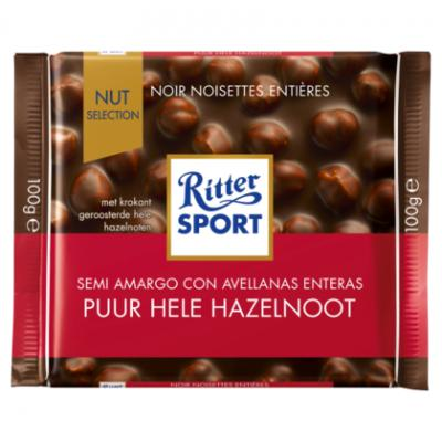 Ritter Sport puur hele amandel of cashe