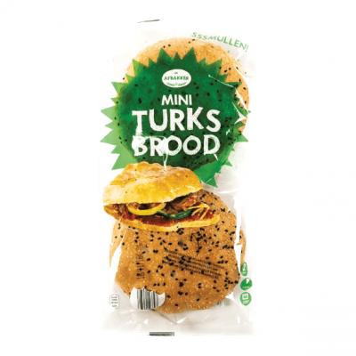 De Afbakker mini Turks brood