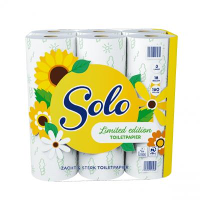 Solo3-laags toiletpapier Limited Edition