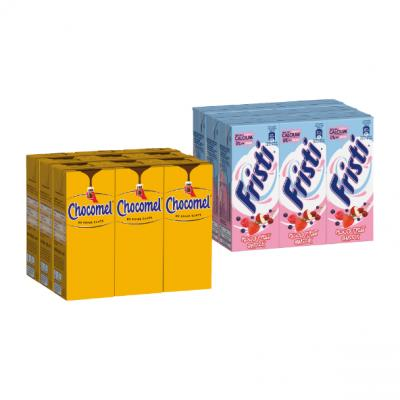 Fristi rood fruit of Chocomel 9-pack