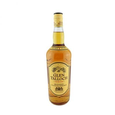 Glen talloch blended scotch whisky