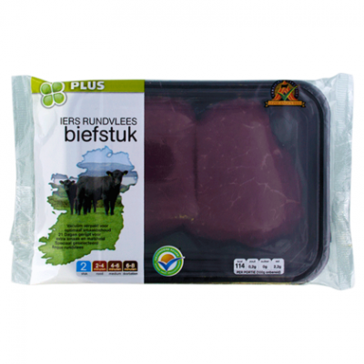 PLUS Irish Angus Biefstuk