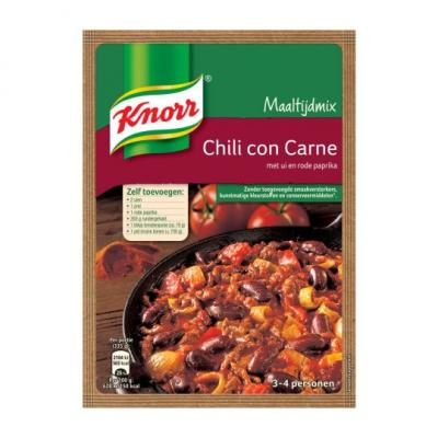 Knorr mix voor chili con carne