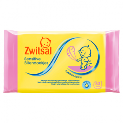 Zwitsal Lotion billendoekjes sensitive
