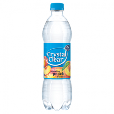 Crystal clear peach