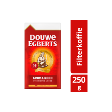 Douwe eberts aroma rood koffie grove maling